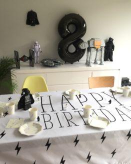 nappe d'anniversaire Super Milo