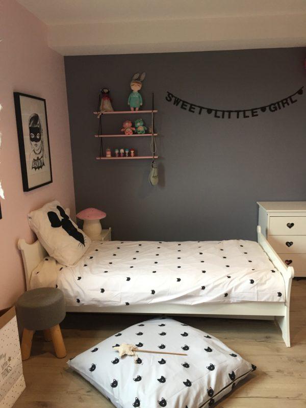 linge de lit enfant Romeow noir