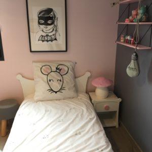 linge de lit enfant Romeow blanc