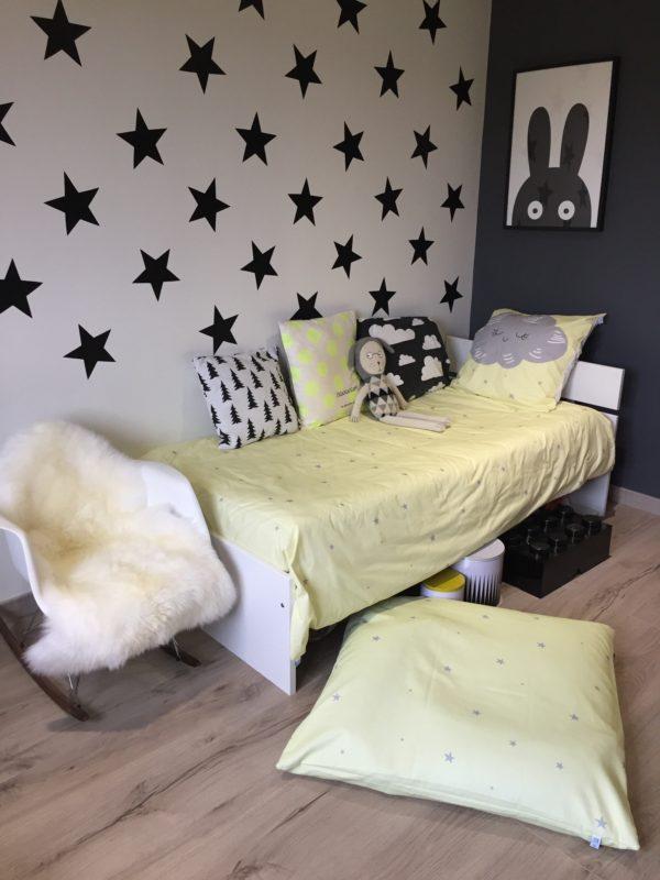 Parure de lit Sous les Etoiles de Raphaël étoiles