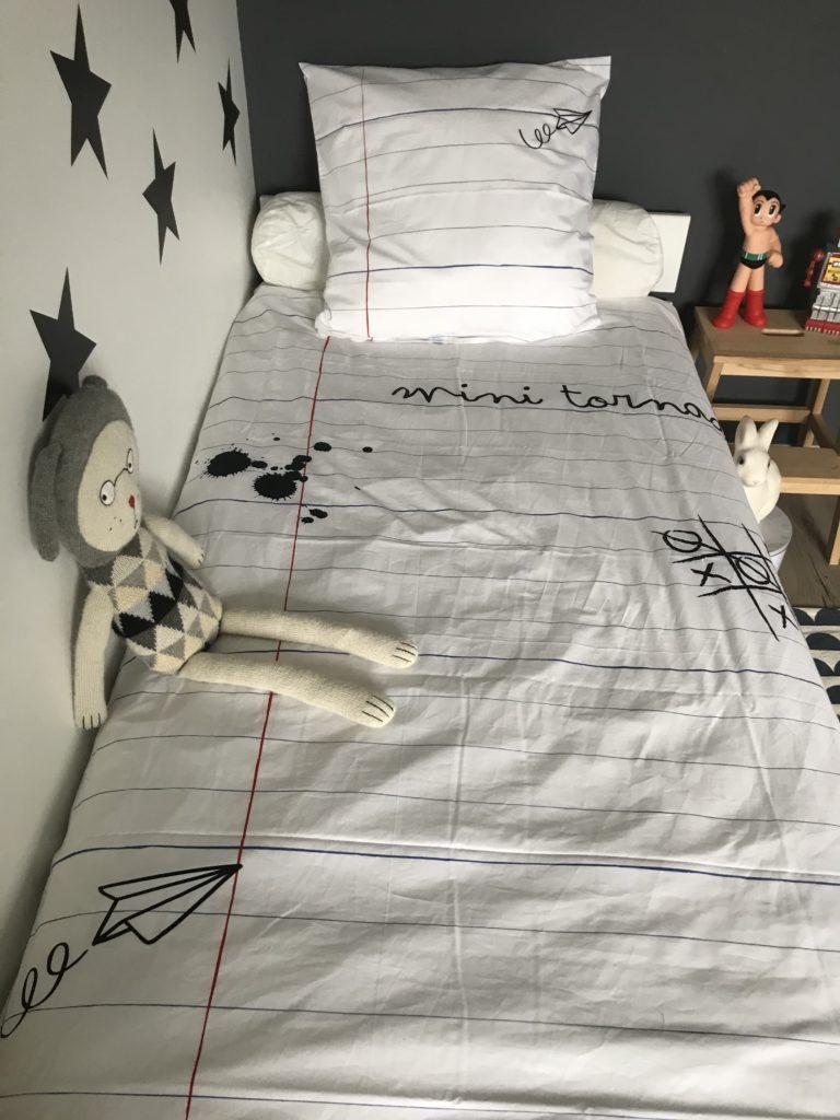 linge de lit Les gribouilles de Nina zoom
